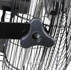 Zone De Confort Czhvw18 Ventilateur Industriel À Haute Vitesse 3-speed 18 Wall-mount